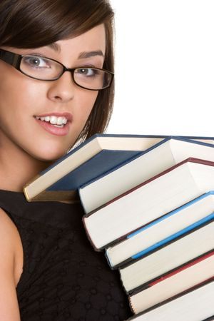 Book Girl Stock Photo - 4312944