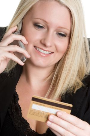 Credit Card Shopper Stock Photo - 4312947