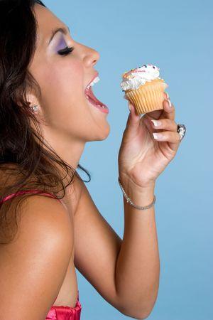 Cupcake Girl Stock Photo - 4303495