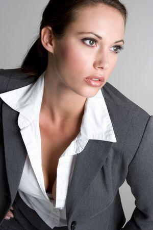 かなり女性実業家 写真素材