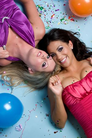 Party Girls Stock Photo - 4359443