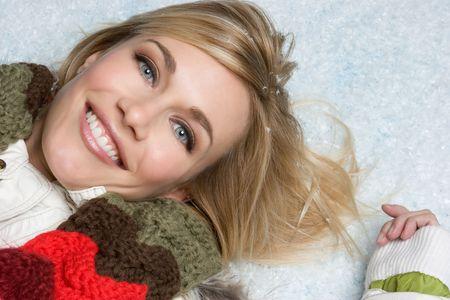 scarves: Snow Girl