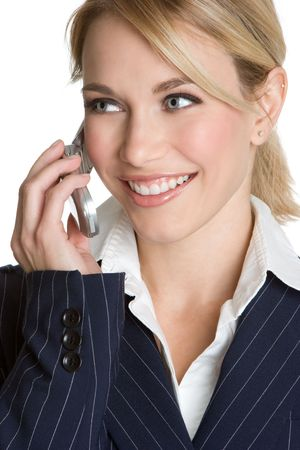 Woman on Phone Stock Photo - 4349329