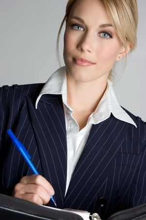 pinstripes: Business Woman