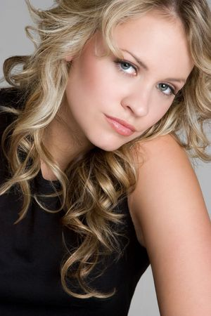 Blond Model photo