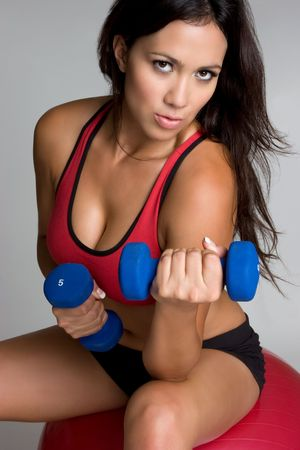 Woman Working Out Stock Photo - 4396963