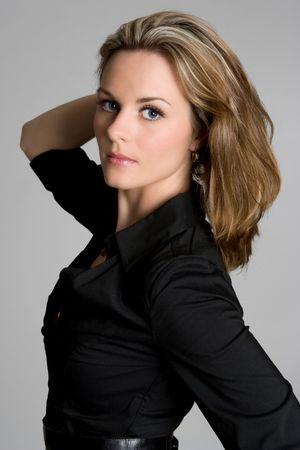Beautiful Woman Posing 스톡 콘텐츠
