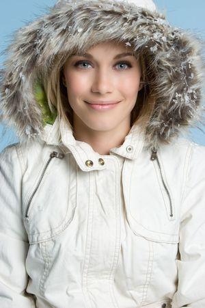 Fur Coat Woman Imagens