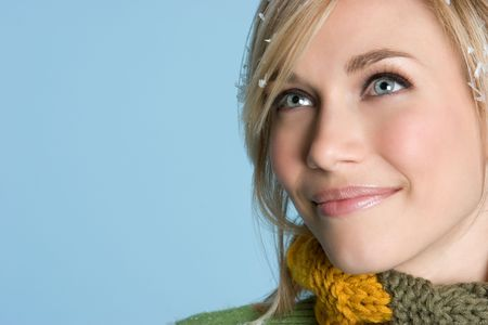 Young Winter Girl Stock Photo