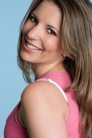 Beautiful Girl Smiling Stock Photo - 4451461