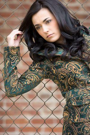 Pretty Fashion Model Stock Photo - 4463337