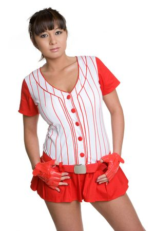 Baseball Girl photo
