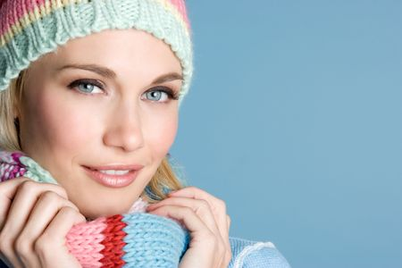 wrapped up: Winter Girl LANG_EVOIMAGES