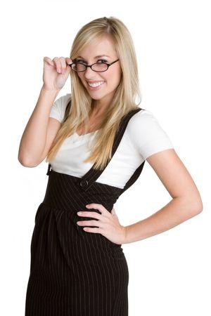 Smiling Businesswoman Stock Photo - 4517172