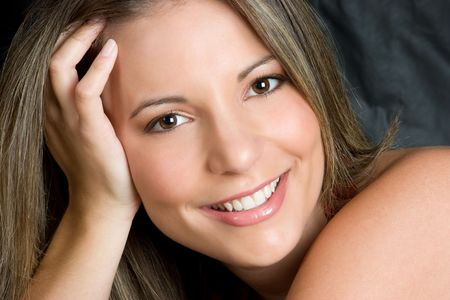 Beautiful Smiling Woman Stock Photo - 4516038
