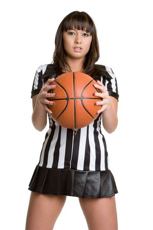 Asian Basketball Referee Stock Photo - 4517174