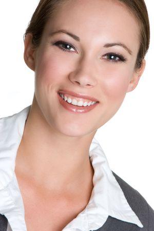 Happy Businesswoman Stock Photo - 4530815