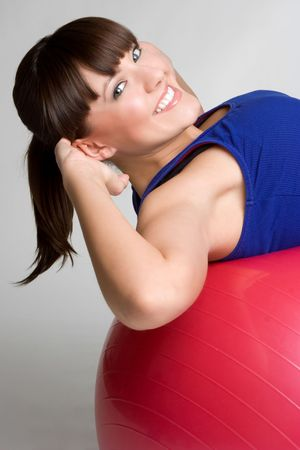 Woman Doing Situps Stock Photo - 4536171