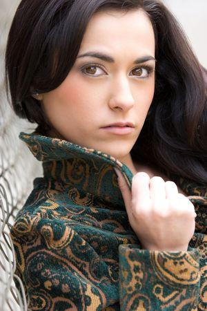 Beautiful Young Woman Stock Photo - 4562504