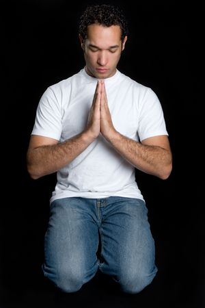 Praying Man Stock Photo - 4562509