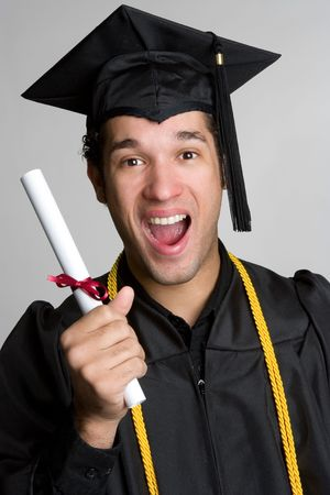 graduating: Excited Graduate