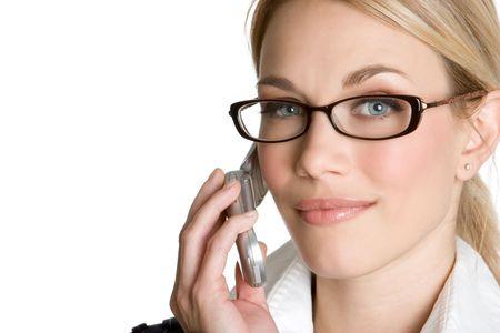 Beautiful Woman on Phone Zdjęcie Seryjne - 4573380