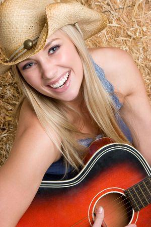 Laughing Guitar Girl