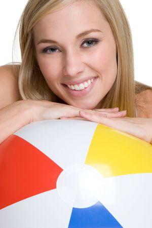 beach ball girl: Hermosa Beach Ball Chica LANG_EVOIMAGES