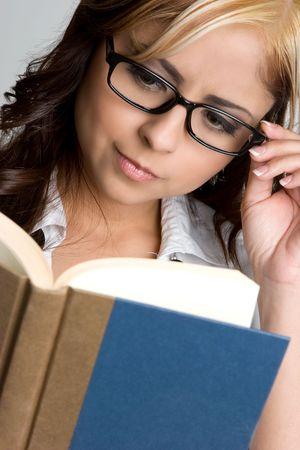 Book Woman Stock Photo - 4573390