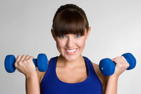 Smiling Fitness Woman Stock Photo - 4591368