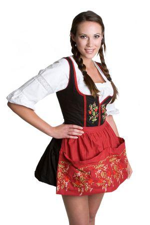 Smiling German Woman