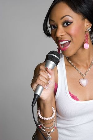 diva: Black Woman Singing LANG_EVOIMAGES