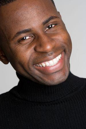 Smiling Black Man Stock Photo - 4593705