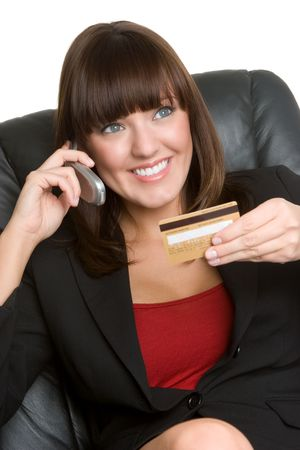 Credit Card Woman Stock Photo - 4598666