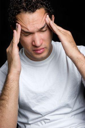 Man With Headache Stock Photo - 4614292