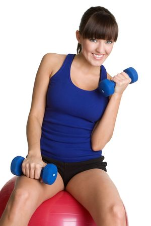 Smiling Workout Girl Stock Photo - 4641193