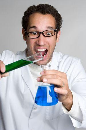 Crazy Scientist Stock Photo - 4652915