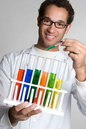 Test Tube Scientist Stock Photo - 4652914
