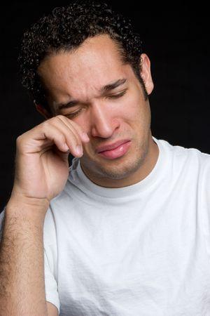 man crying: Crying Man