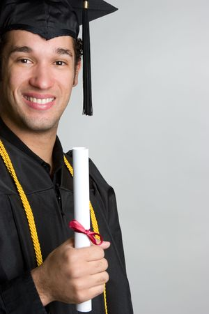 Smiling Graduate Stock Photo - 4652918