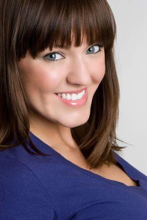 Beautiful Smiling Woman Stock Photo - 4679615