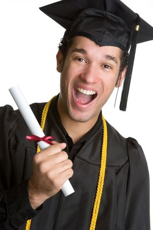 Smiling Grad Stock Photo - 4679614