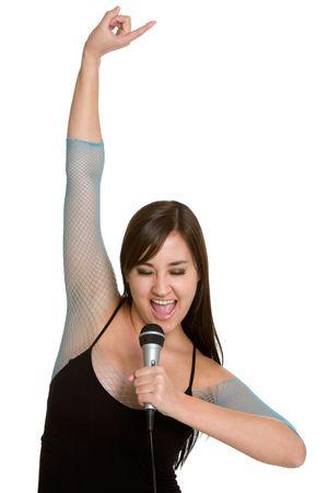Rock Star Singing photo