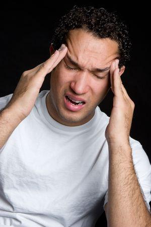 Headache Man Stock Photo - 4709012