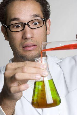 mixture: Nervous Scientist LANG_EVOIMAGES