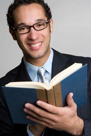 Hombre de libros de lectura Foto de archivo - 4709019