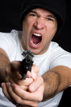 Gun Man Stock Photo - 4709018
