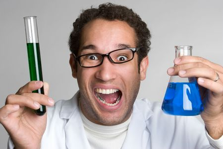 Mad Scientist Stock Photo - 4734306