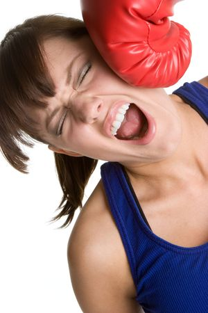 Knockout Girl Stock Photo - 4734291