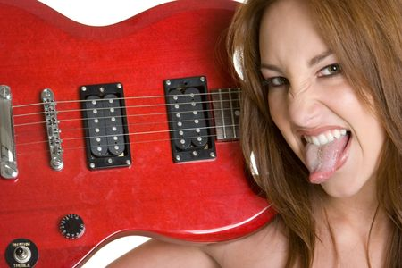 rockstars: Electric Guitar Girl